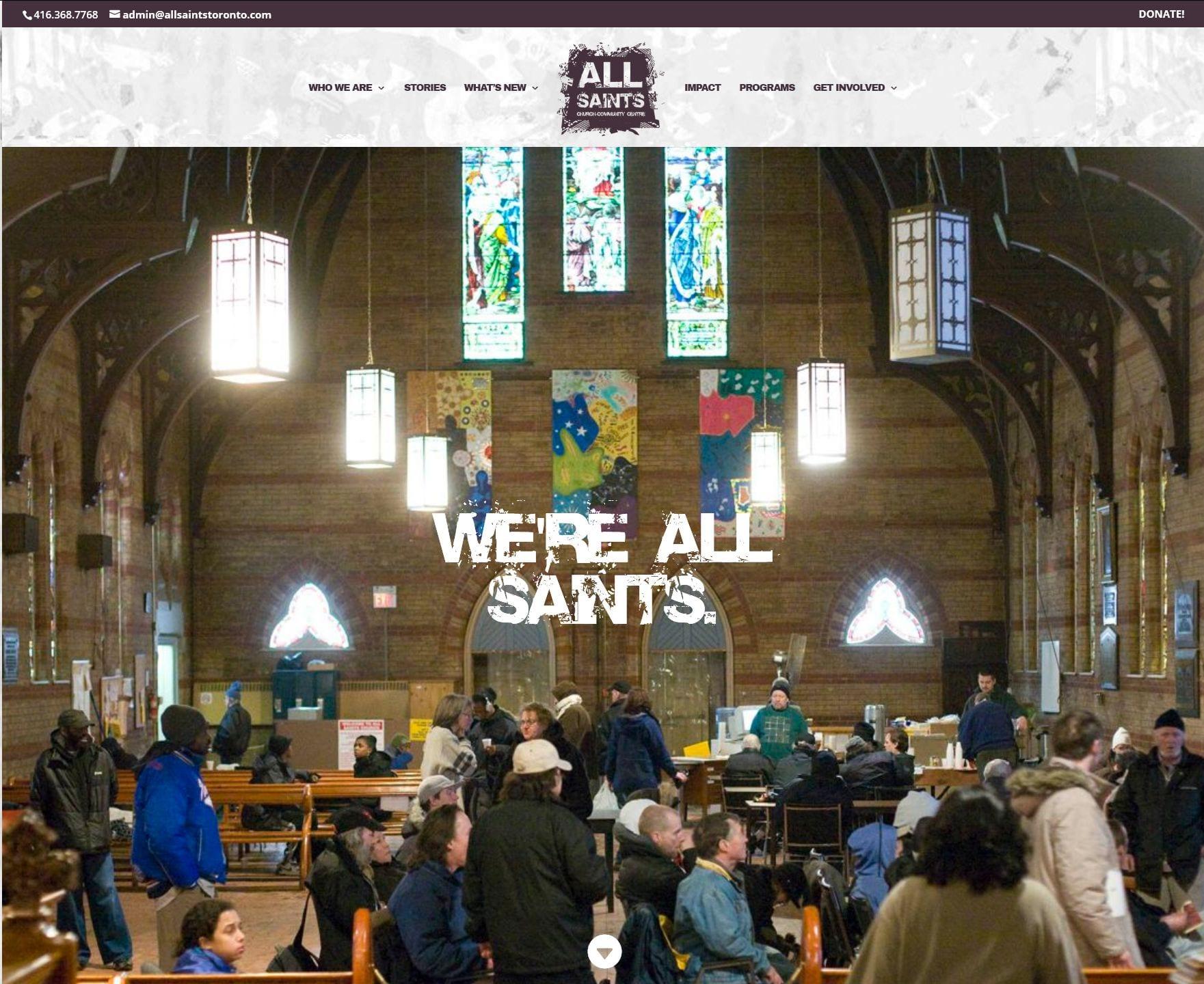 all_saints_website